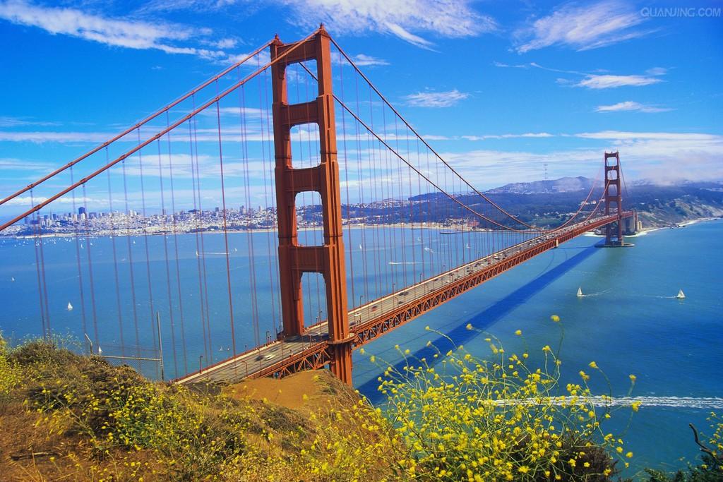 桥的手绘图第一视角